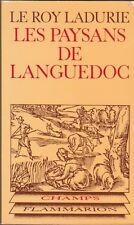 Le Roy Ladurie - Les paysans de Languedoc - Champs Flammarion