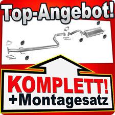 Auspuff MG ZR 2.0 TD 8V Schrägheck (ROVER) Auspuffanlage P36