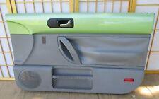 98-10 VW Volkswagen Beetle GREEN & GRAY Passenger (R) Interior Power Door Panel