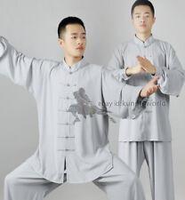 Popular Tai chi Uniform Martial arts Kung fu Suit Soft Synthetic Wing Chun Sets