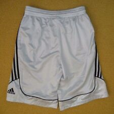 ADIDAS Gray/Black BASKETBALL SHORTS Baggy Athletic Gym Size Men's MEDIUM Nice!