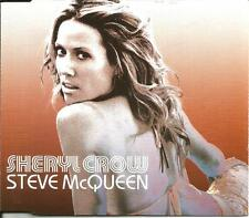 SHERYL CROW Steve McQueen w/ 2 RARE LIVE TRX Europe CD single SEALED USA Seller