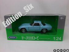 Welly diecast 1:24 1965 LOTUS ELAN classic british sports car Blue new