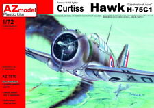 "AZ Model 1/72 Curtiss Hawk H-75C-1 ""tchécoslovaque ACES"" # 7570"