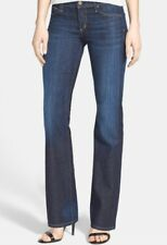 dab737ac105 CITIZENS OF HUMANITY 'DITA' PETITE BOOTCUT STRETCH DARK-BLUE RINSE JEANS  SIZE 26
