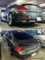 04-08 PRIMED BMW 6-series E63 COUPE LU TRUNK BOOT SPOILER Fit M6