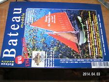 * Revue Bateau Modele n°43 Sloop de St Pabu Plan detecteur d'eau Cintrage Virure