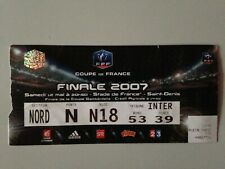 TICKET MATCH OLYMPIQUE MARSEILLE - SOCHAUX / COUPE DE FRANCE FINALE 2007