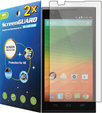 2x Ultra Clear LCD Screen Protector Guard Cover Shield Film ZTE ZMax Z970