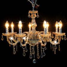 8 Light Crystal Ceiling Lighting Chandelier Lamp Pendant Fixture#EY6E US SHIP~NE