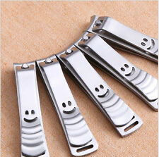 Large Smiley Nail Clippers Cutter Manicure Pedicure Nail Scissors Trimmer Tool