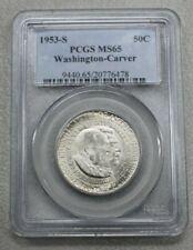 PCGS M64 Half Dollar 1953 Washington Carver Comm