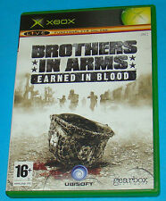 Brothers in Arms - Earned in Blood - Microsoft XBOX - PAL