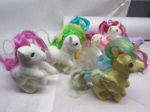 Vintage 1983 MLP Lot rare 6 ponies  My Little Pony