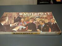 Vintage 1970 Parker Brothers Masterpiece Art Auction Board Game Complete!