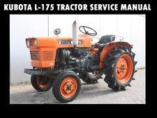 Kubota L175 Workshop Service Manual for L-175 Tractor Tuning & Shop Repair