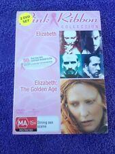 Elizabeth: The Golden Age / Elizabeth DVD 2-Disc R4  FREE POST #barbarajane06
