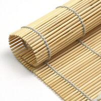 "Kitchen Bamboo Sushi Mat Sushi Roller Rolling Mat Great for Beginners 9.4""x9.4"""
