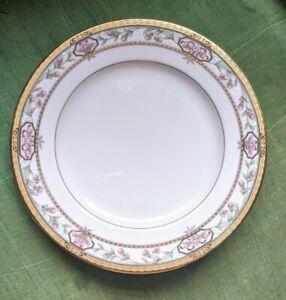 MIKASA China MERRICK L5517 Bread Plate - Dessert Plate - Floral - Gold Trim