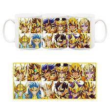 Saint Seiya Cavalieri dello Zodiaco Gold Oro Tazza Ceramica Mug Cup Anime #2