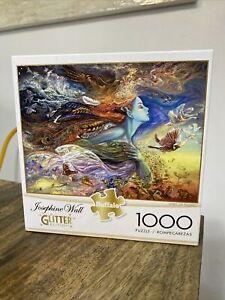 Spirit Of Flight Glitter Edition Jigsaw 1000 Piece Puzzle New Sealed