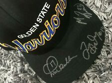 Warriors Mitchell & Ness Signed  Cap (Run TMC) Hardaway Richmond Mullin Auto