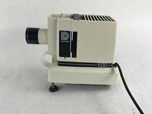 Vintage Dukane 500 Silent Filmstrip Slide Projector ; No Light