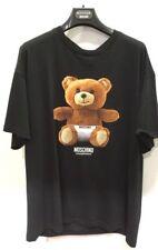 AW17 Moschino Underwear Jeremy Scott Teddy Bear UNDERBEAR OVERSIZED BLACK TShirt