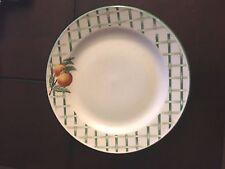 Citation Garden Trellis 4 Salad Plates Fruit Lattice Stoneware Free Shipping