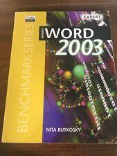 Microsoft Word 2003 Expert Certification/Nita Rutkosky by Nita H. Rutkosky