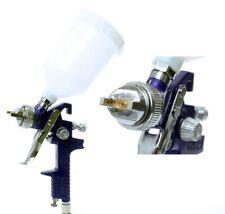 HVLP 1.4mm Spray Gun H-827W SILVER High Volume Low Pressure Painting Gun