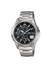 Casio Linage LIW-500DE Solar Waveceptor Alarm Chronograph Mens Watch LIW-500