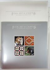 1988 US Postage Stamps USPS FOLK ARTS CRAFTS Mint Set #840 In Portfolio