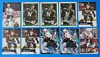 LOT OF 10 BRIAN GLYNN SIGNED HOCKEY CARDS ~ 100% GUARANTEE