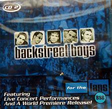 Backstreet Boys For the Fans (2000 Zompa) CD #2 SEALED