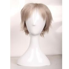 Multi Colors Anime Cosplay Short Wig Layer Haircut Full Wigs Heat Resistant Hair
