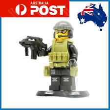 Custom LEGO Soldier Army Special Forces Operator Gun Weapons Navy Seal Minifig