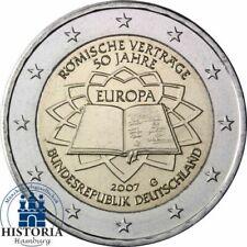 2 Euro Münze 'Römische Verträge'