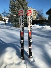 2017 Salomon XDrive R 7.5 Demo Skis w/ Bindings - 154cm Intermediate/Advanced