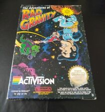 THE ADVENTURES OF RAD GRAVITY - NINTENDO NES - COMPLET - PAL B