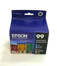 Epson GENUINE 99 Color Ink 5 Pack ARTISAN 800 810 835 837 Expired 2016 OEM