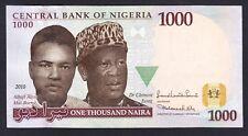 Nigeria 1000  Naira  2010   AU-UNC  P. 36,  Banknote, Uncirculated