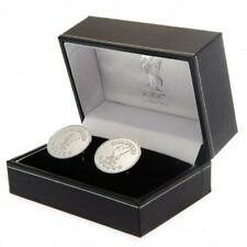 Liverpool F.C. Silver Plated Champions of Europe Cufflinks Valentine's Day Gift