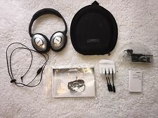 Bose QuietComfort 15 Acoustic Noise Cancelling Headphones w/MobileCommKit/&Case