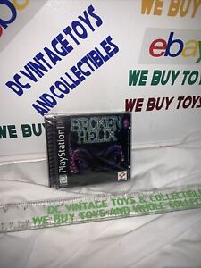 Broken Helix (Playstation 1 PS1) Factory Sealed NIB with Hangtab, Clean L@@K!!!!