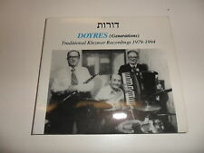 Cd   Various  ‎– Doyres (Generations) - Traditional Klezmer Recordings 1979-1994