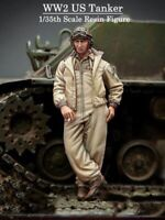 Resin 1/35 WWII US Tanker at Rest unpainted unassembled BL332