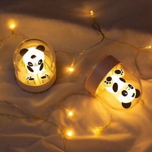 Night Light for Kids, Cute Little Bear Night Light Portable Color Changing
