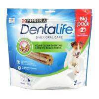 Purina DENTALIFE Dog Puppy Dental Sticks Oral Plaque Tartar Care Treats Chews