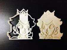 Princesse Peach-Super Mario Bross-Vendeur Britannique Plastique Biscuit Cookie Cutter fon